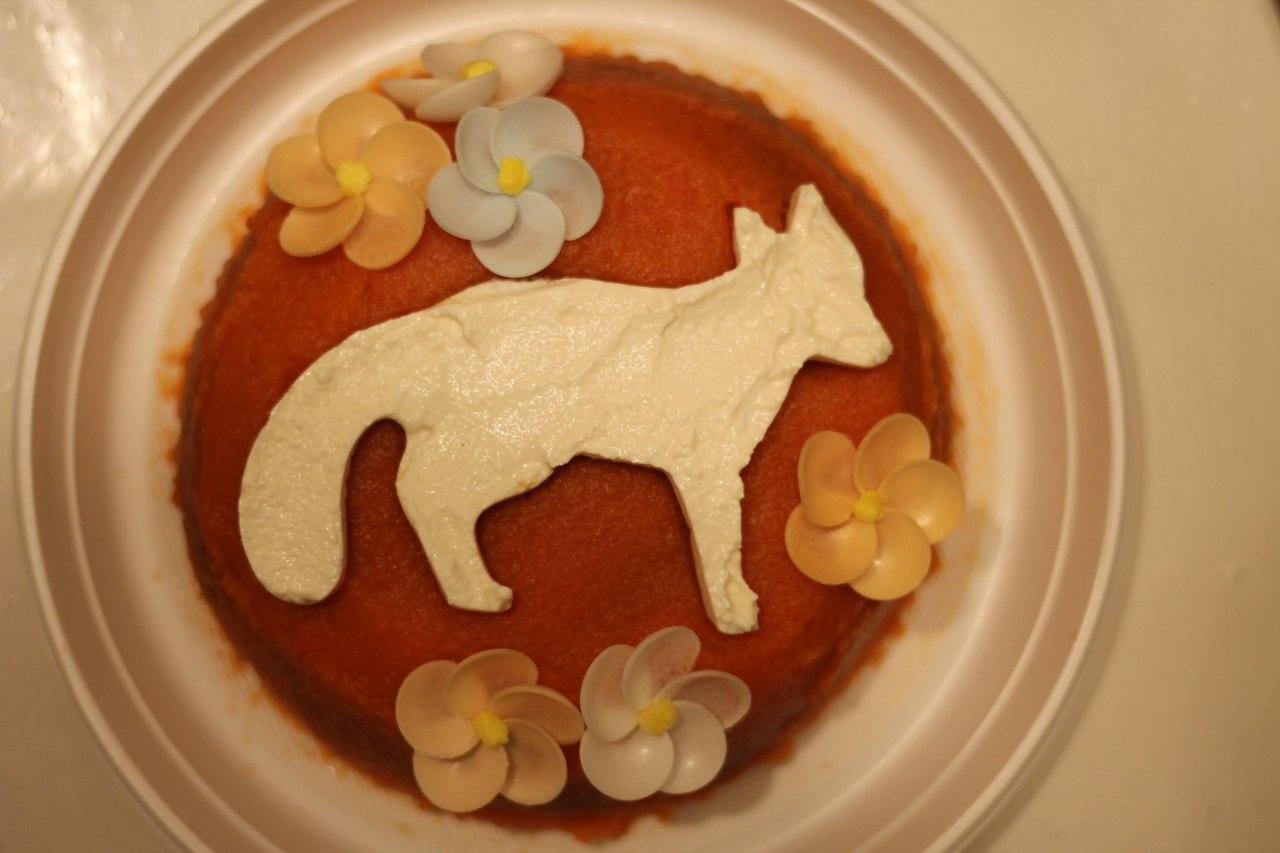 Торт с лисами 13 фотография