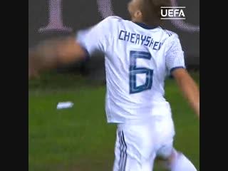 Гол Дениса Черышева в матче с Турцией