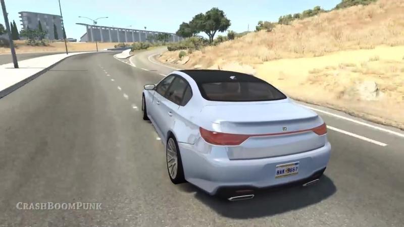 [CrashBoomPunk] Realistic High Speed Crashes 39 - BeamNG Drive | CrashBoomPunk