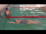 Елена Анохина, первые 50 м, 17 занятие