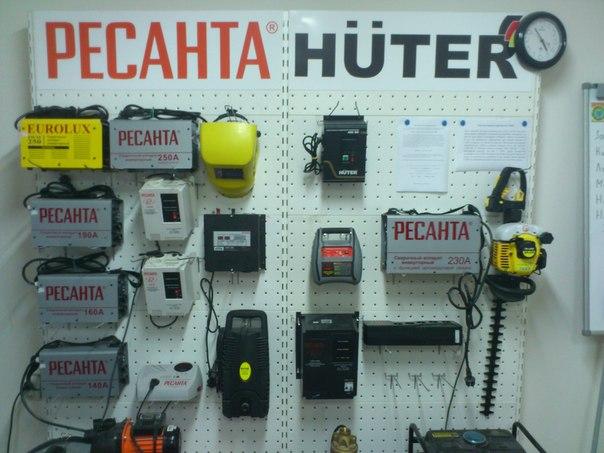 Инверторный генератор крым Ресанта Huter