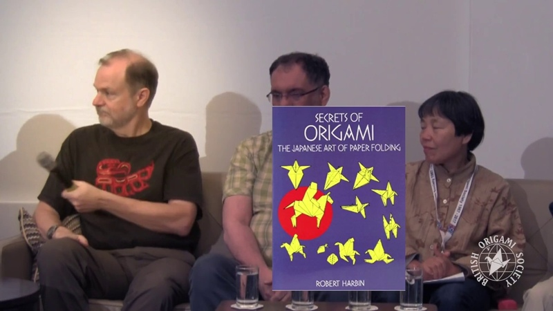 Origami Live - British Origami Society 50th Anniversary Guests Interviews
