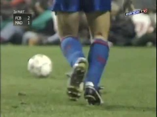 Сезон 1990/1991. Барселона - Реал - 2:1