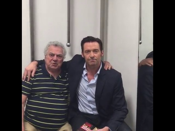 Hugh Jackman acabou de postar um vídeo (EMOCIONANTE) com Isaac Bardavid, o dublador do Wolverine