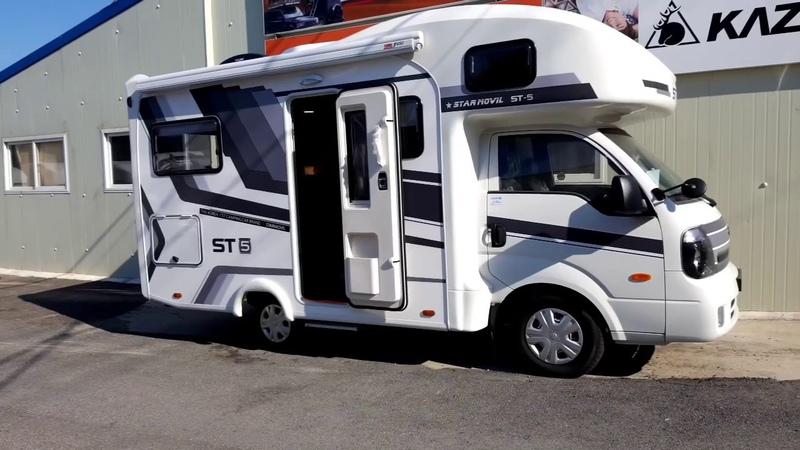 Автодом из Южной Кореи Модель ST 5 대한민국 스타모빌 캠핑카 ST 5
