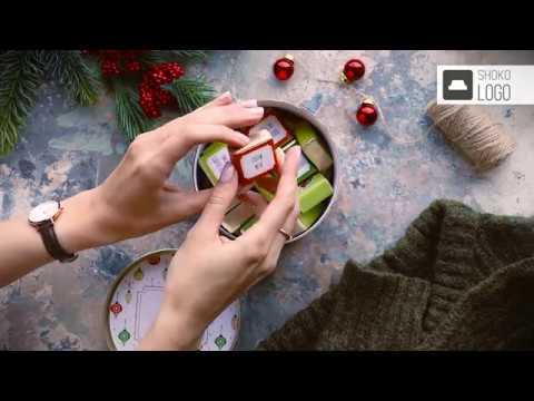 Корпоративный подарок с логотипом дешевый сладкий. Тубус с конфетами