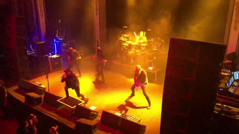 In Flames Everything's Gone Live at Newport Music Hall