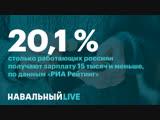 🔥 Любовь Соболь о бедности пятой части работающих Россиян