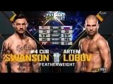 Artem Lobov vs Cub Swanson FULL FIGHT - UFC Nashville