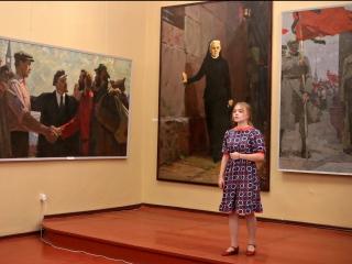 Поет Анастасия Ермачкова-ученица Детской музыкальной школы. г Мичуринск. ( Преподаватель Сосновская М.Ю)
