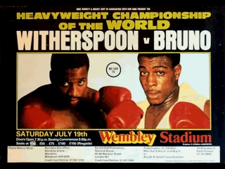 Тим Уизерспун vs Фрэнк Бруно (Tim Witherspoon vs Frank Bruno) 19.07.1986