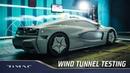 Rimac C_Two Aerodynamic Testing