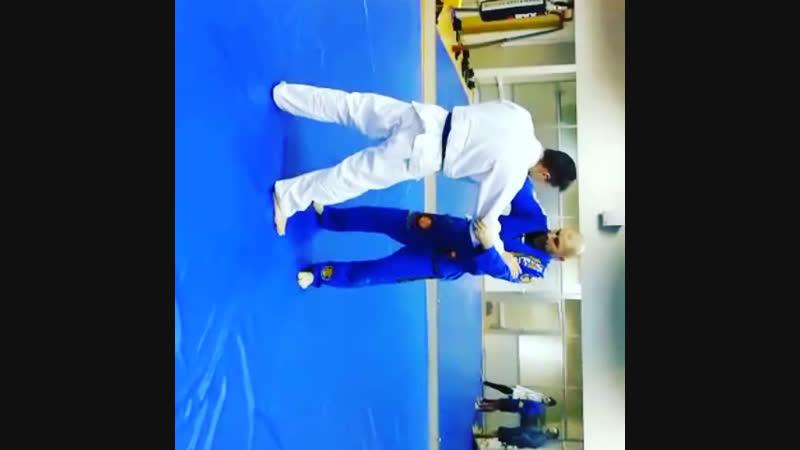 Jiu jitsu rolling with shifu Zhukov Ivan