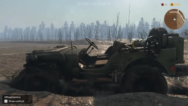Tank Mechanic Simulator - Dynamic Mud Coverage (shader)