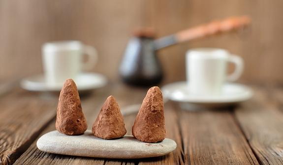 Домашние конфеты из орехов