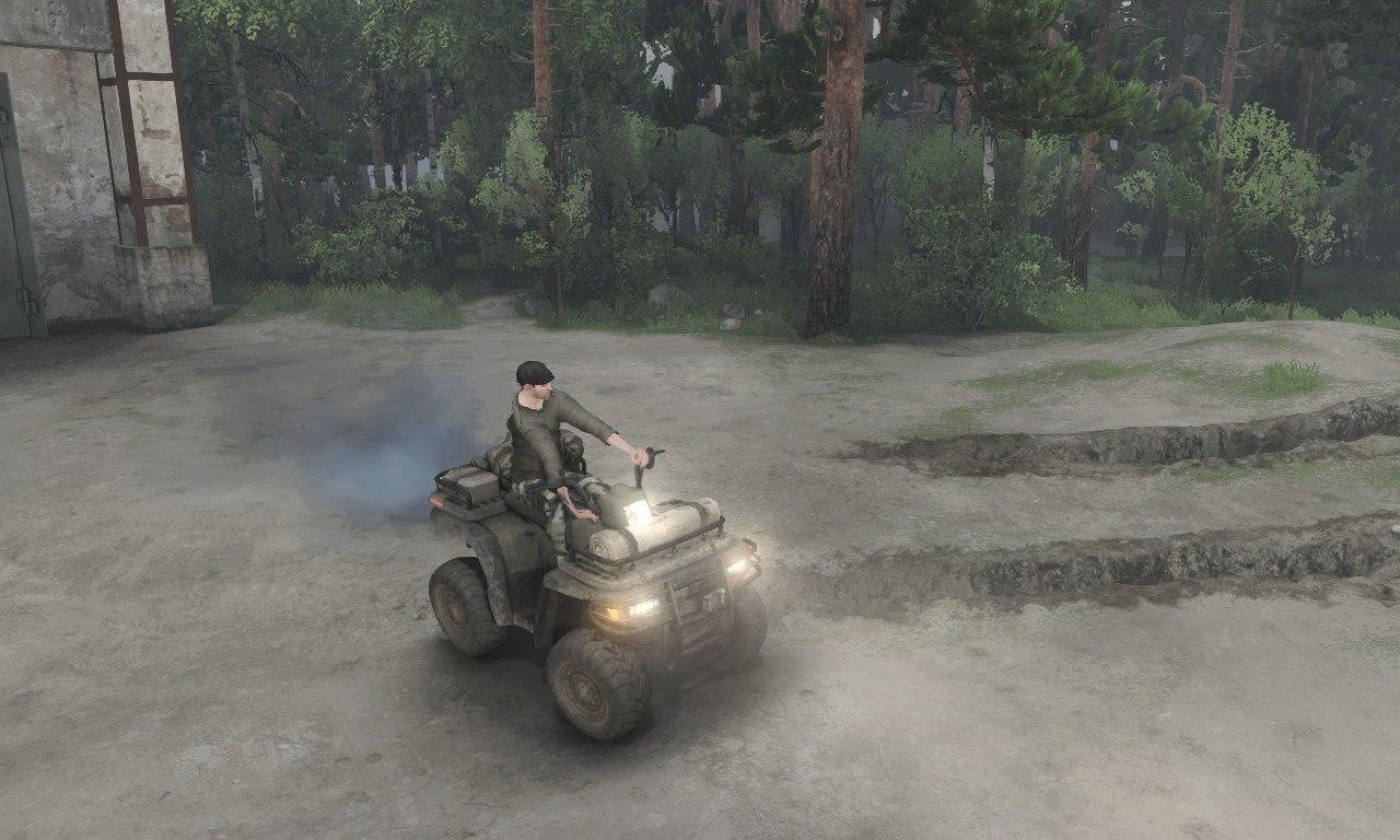 ATV-1 для 03.03.16 для Spintires - Скриншот 1