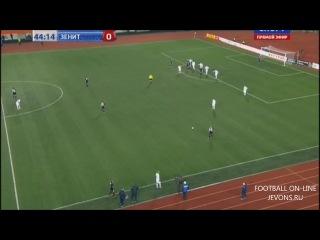 Тюмень — Зенит 2:0, Кубок России 30 октября 2013