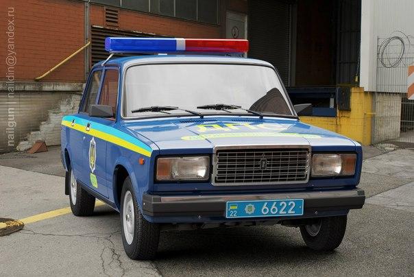 Полицейские Машины Мира №29 ВАЗ 2107