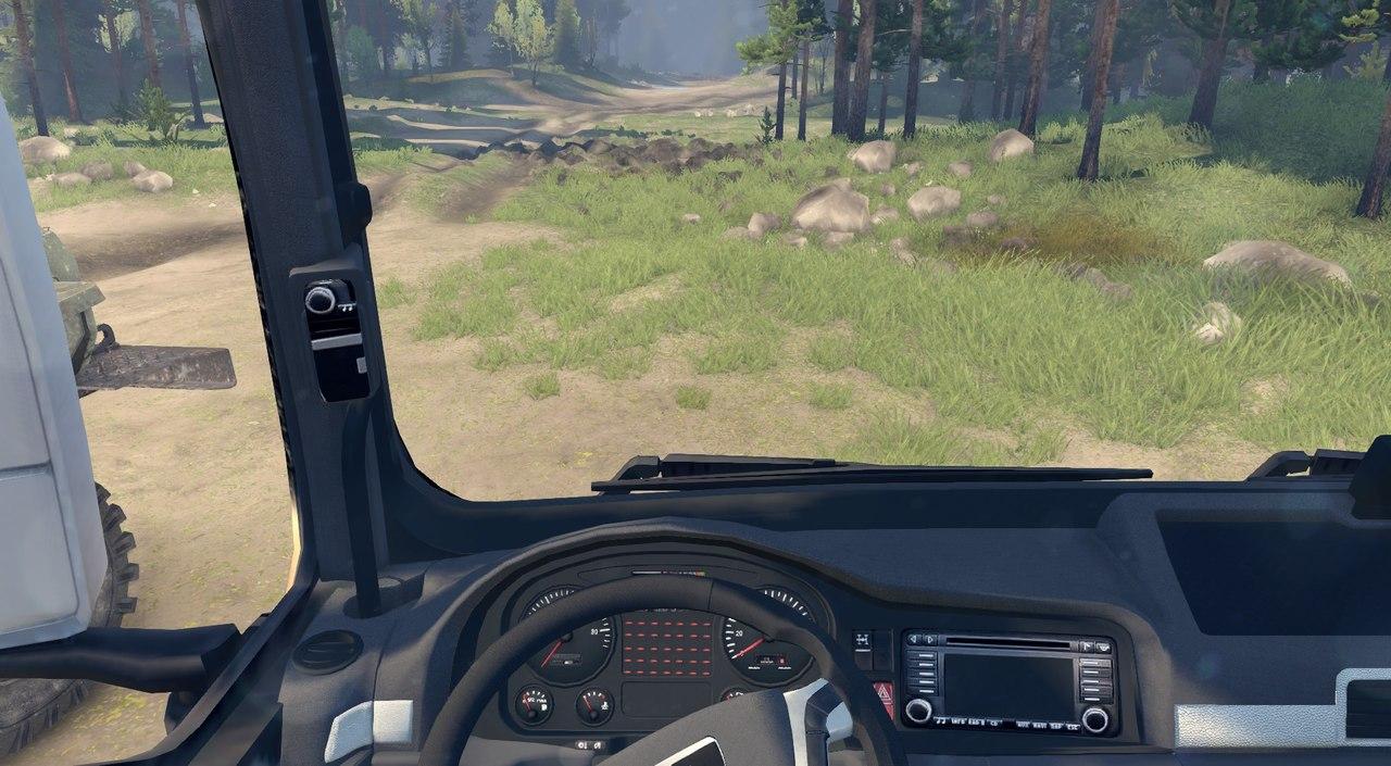 MAN TGX 6x4 для Spintires - Скриншот 3