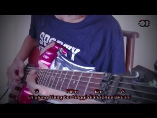 Cokelat - Bendera Versi Metal Guitar Cover