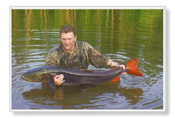 рыбалка на бии на тайменя в