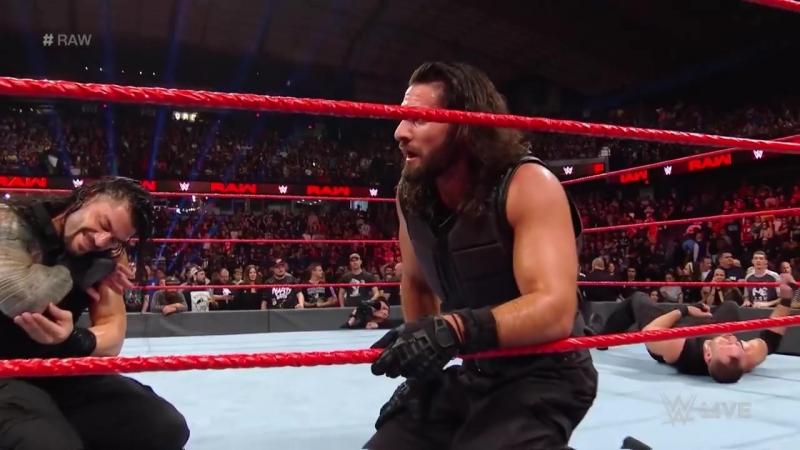 The Shield vs. Braun Strowman, Dolph Ziggler Drew McIntyre_ Raw, Oct. 8, 2018