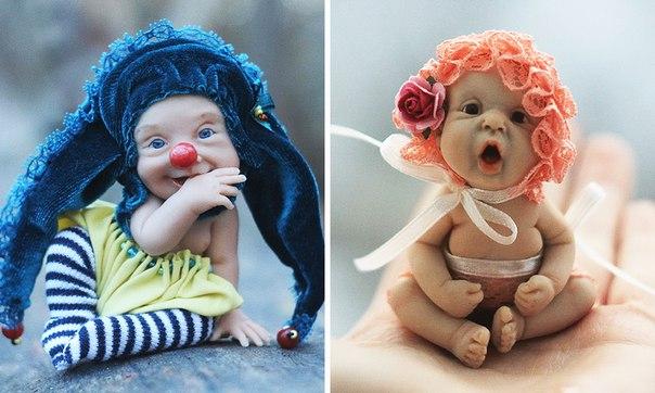 20 безмерно милых кукол из пластика: ↪