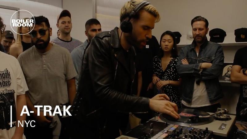 A Trak Backpack Hip Hop Mixtape Boiler Room NYC