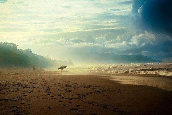 Утреннее побережье, Штат Калифорния, США