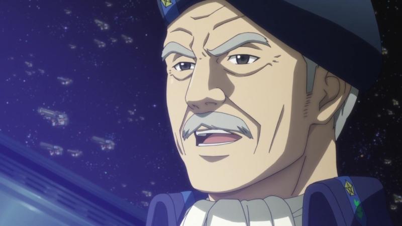Ginga Eiyuu Densetsu Die Neue These Kaikou Легенда о героях Галактики 2018 11 серия Озвучка Azazel Oriko AniDub
