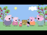 Свинка Пеппа серии подряд без перерыва 15 мин 25 27 2014 HD