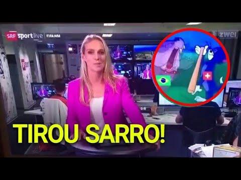 QUEM TV Suíça ZOMBA do Brasil depois do EMPATE na Copa!
