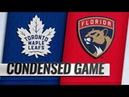 Toronto Maple Leafs vs Florida Panthers   Jan.18, 2019