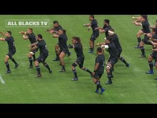 Хака от all black maori
