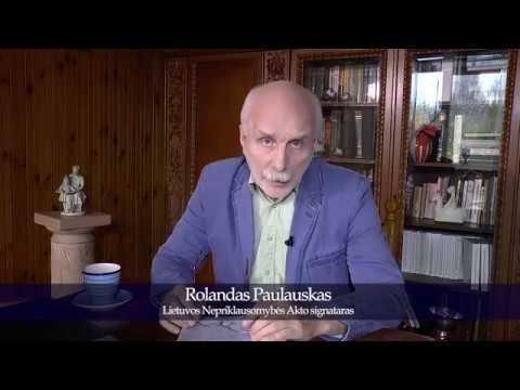 Nr 10 Spalio mėn įvykių apžvalga Kas čia daros Rolandas Paulauskas 2018 10 31