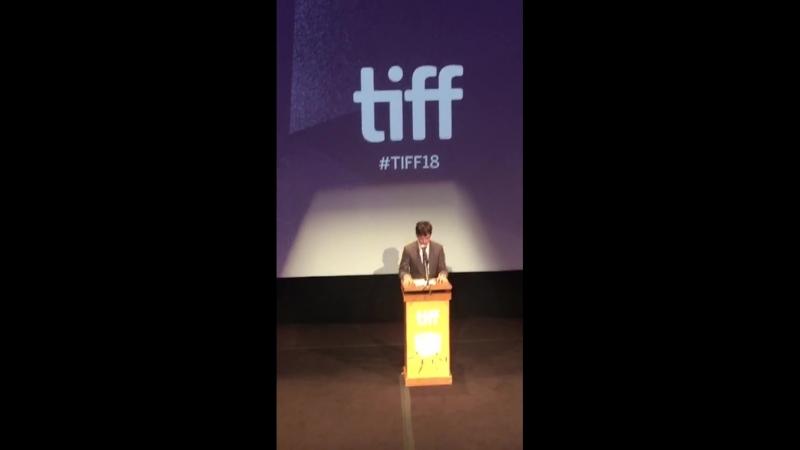 Ксавье Долан представляет свой новый фильм The Death and Life of John F - TIFF