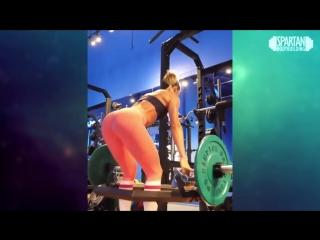 Valentina Lequeux training