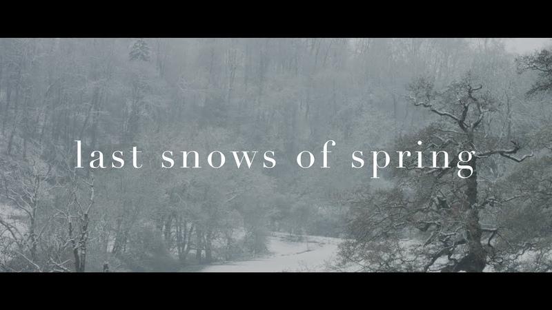 Last snows of spring - Luke Faulkner
