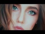 Работа художника арт-студии FREEPAINTER Холст / Масло, портрет по фото (vk.com/risuem)