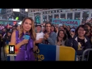 @Ginger_Zee is outside with the BTSARMY