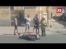 Мотоциклиста без прав сбили в Череповце