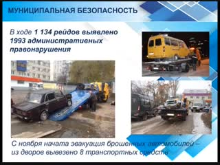 Итоги года: в Ульяновске убрали почти три сотни самовольно установленных объектов
