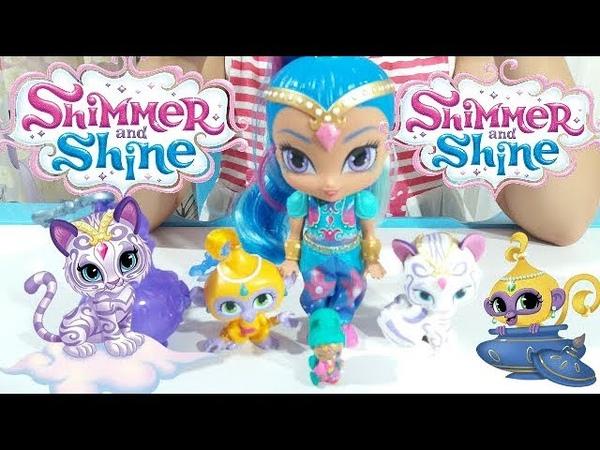 ШИММЕР И ШАЙН Волшебная Лампа для Джиннов Shimmer Shine Kids Video