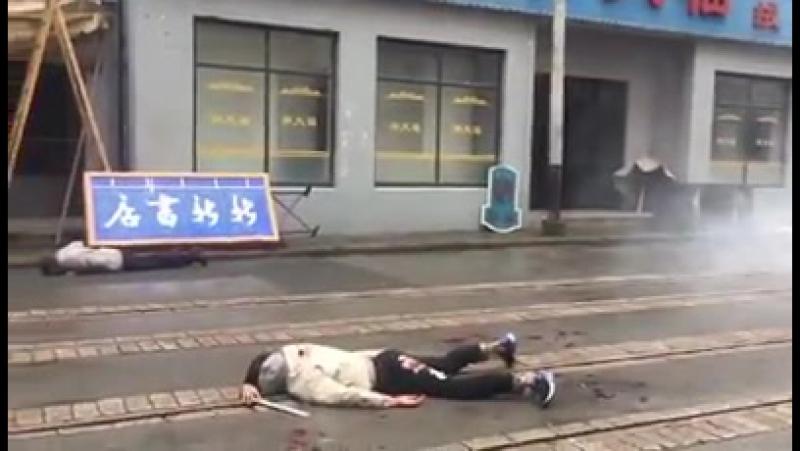 China - Muslim terrorist taken care of.