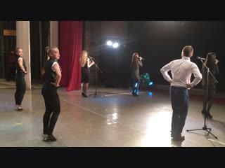 Калинка - Малинка ! И шоу балет ! Конце от !