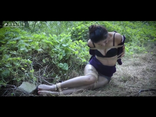 ChineseLG — bondage in forest