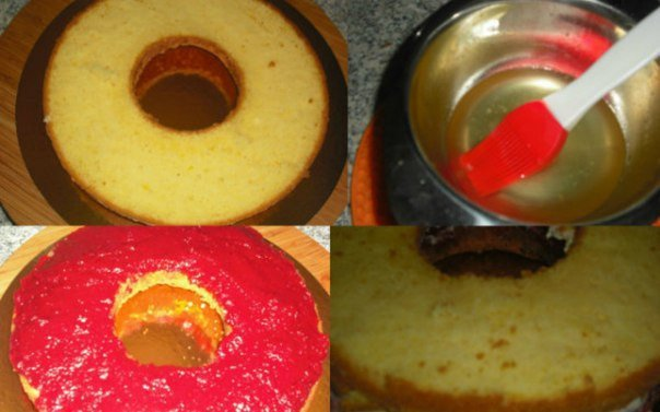 Сироп для бисквита рецепт с фото