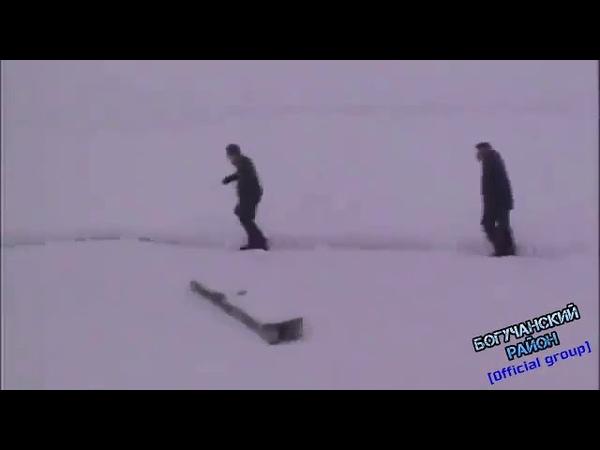 Снежные забавы прикол дворника