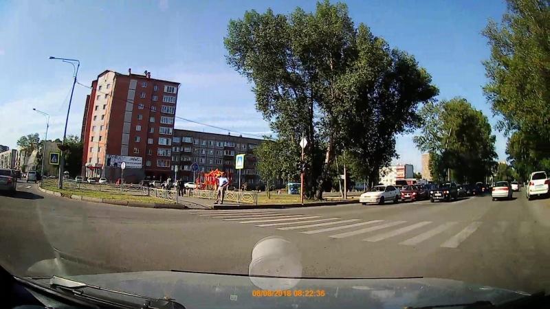 дтп на перекрестке Некрасова-Ярыгина ч.2