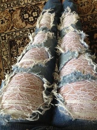 Жилет из джинсов с доставкой